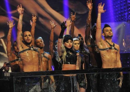 <center>Lady GaGa performs &#8220;Judas&#8221; on The Graham Norton Show